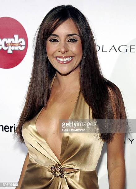 Singer Karyme Lozano attends People En Espanol's 4th Annual 50 Most Beautiful Gala at Capitale May 18 2005 in New York City