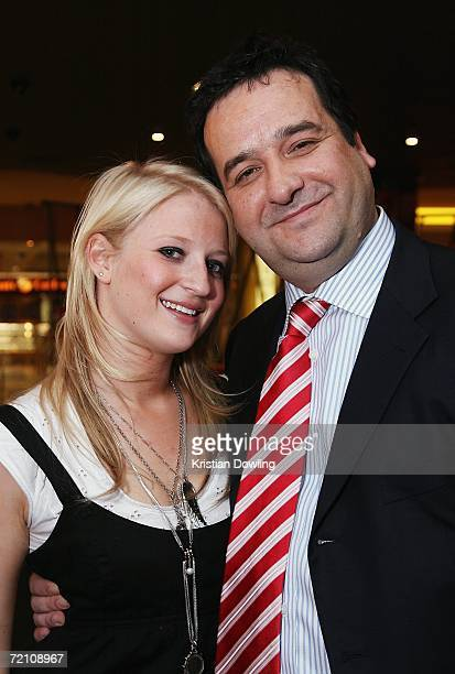 Singer Kate Alexa and actor Mick Molloy arrive at the Australian premiere of the new comedy 'BoyTown' at the Village Cinemas Jam Factory on October 6...