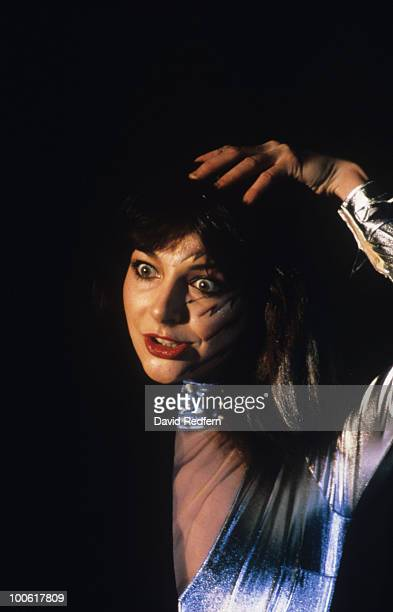Singer Kate Bush performs on stage in March 1980