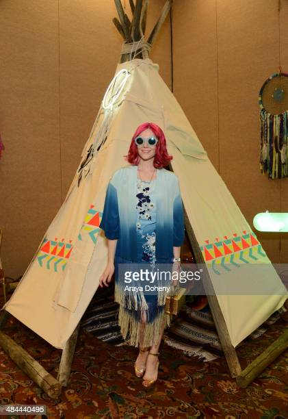 Singer Kate Nash attends the Kari Feinstein Music Festival Style Lounge at La Quinta Resort and Club on April 12 2014 in La Quinta California