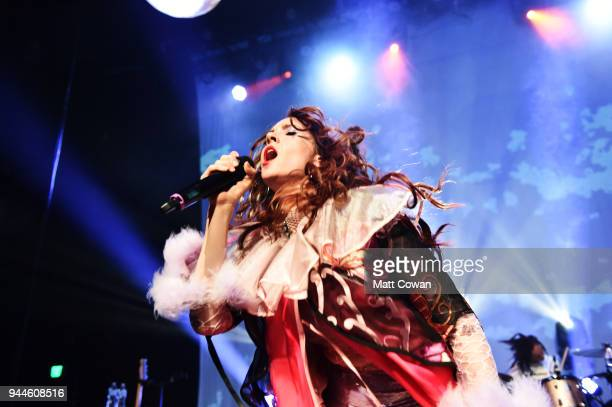 Singer Kate Nash performs at The Fonda Theatre on April 10 2018 in Los Angeles California