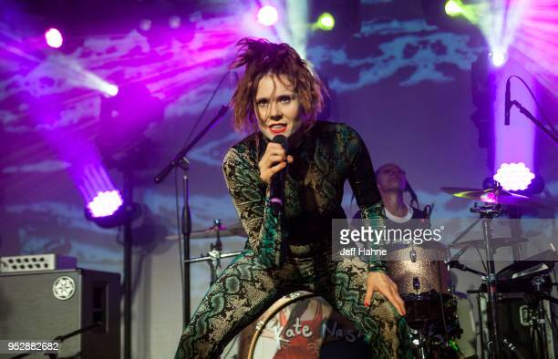 Singer Kate Nash performs at The Underground on April 29 2018 in Charlotte North Carolina