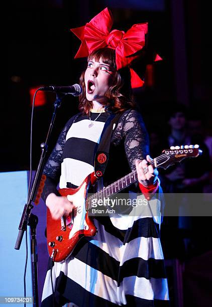 Singer Kate Nash performs the 2011 Armory Show Opening Night benefit at The Museum of Modern Art on March 2 2011 in New York City