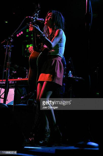 Singer Kate Voegele performs in support of Natasha Bedingfield at Irving Plaza on June 10 2011 in New York City