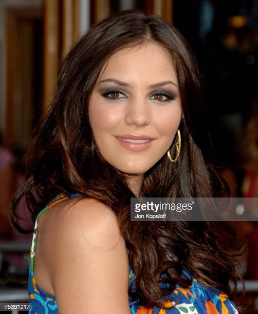 Singer Katharine McPhee arrives at the I Now Pronounce You Chuck and Larry premiere at the Gibson Amphitheatre and CityWalk Cinemas on July 12 2007...