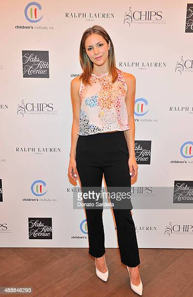 Singer Katharine McPhee attend CHIPS Colleagues Helpers in Philanthropic Service Children's Institute annual charity luncheon at The Four Seasons...