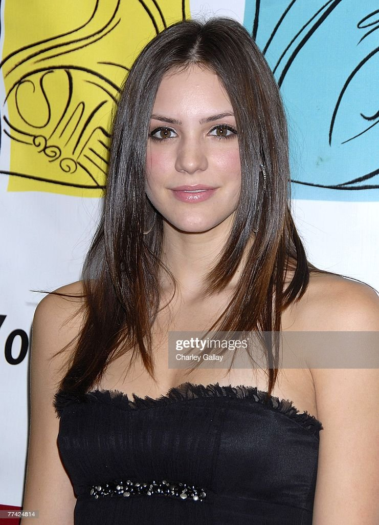 Singer Katharine McPhee attends the 53rd Annual Young Musicians Foundation Gala, celebrating Merv Griffin, at the Beverly Hilton hotel on October 19, 2007 in Los Angeles, California.