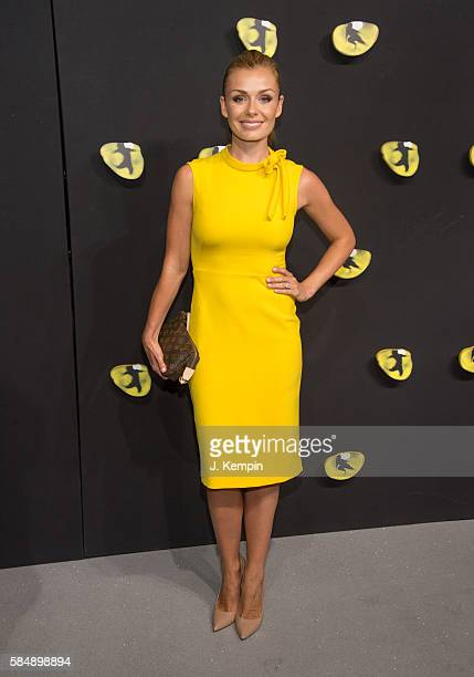 Singer Katherine Jenkins attends the 'Cats' Broadway Opening at Neil Simon Theatre on July 31 2016 in New York City