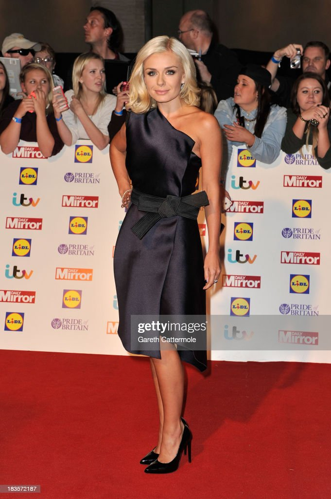 Singer Katherine Jenkins attends the Pride of Britain awards at Grosvenor House on October 7, 2013 in London, England.