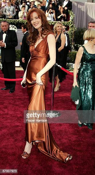 Singer Kathleen Bird York arrives to the 78th Annual Academy Awards at the Kodak Theatre on March 5 2006 in Hollywood California