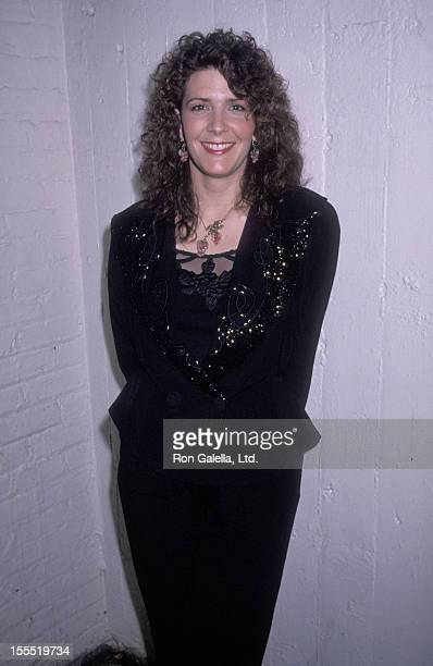 Singer Kathy Mattea attends the United Cerebral Palsy Telethon on January 20, 1990 at the Ed Sullivan Theatre in New York City.