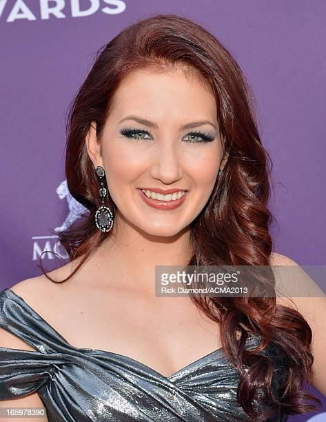 Singer Katie Armiger attends the 48th Annual Academy of Country Music Awards at the MGM Grand Garden Arena on April 7 2013 in Las Vegas Nevada