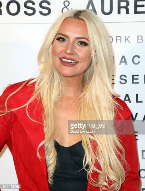 Singer Katie Welch attends Art with a Cause hosted by Shaun Ross Aureta benefiting the Freedom United Foundation for the victims of human trafficking...