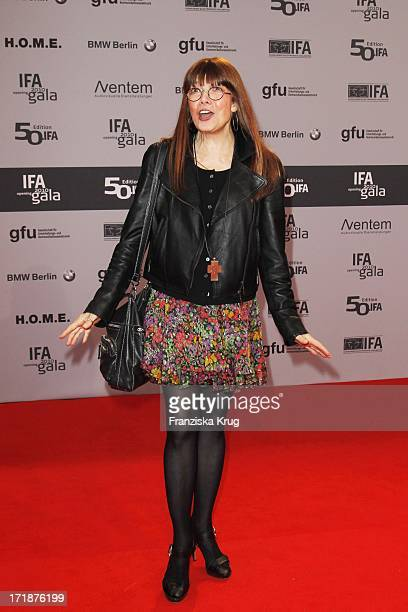 Singer Katja Ebstein In The IFA Opening Gala at the Palais am Funkturm in Berlin