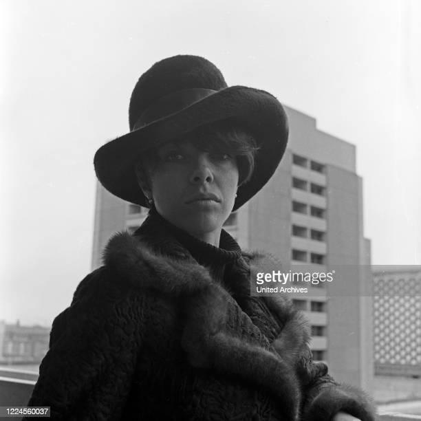 Singer Katja Hollander, Germany, 1960s.