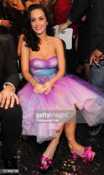 Singer Katy Perry aka Katy Brand attends the 2011 People's Choice Awards at Nokia Theatre LA Live on January 5 2011 in Los Angeles California