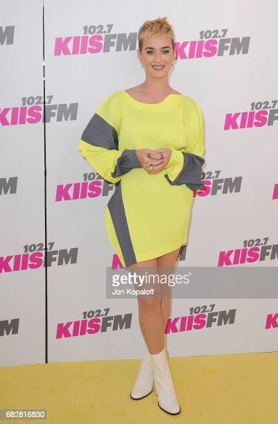 Singer Katy Perry arrives at 1027 KIIS FM's 2017 Wango Tango at StubHub Center on May 13 2017 in Carson California