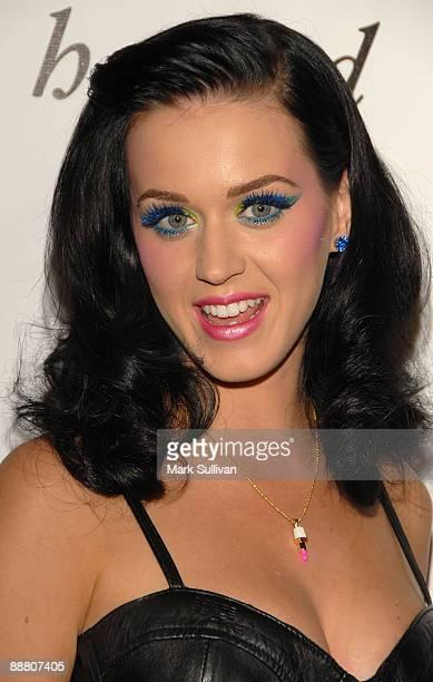Singer Katy Perry arrives at House of Mollinari Birthday Extravaganza at H Wood on May 20 2009 in Los Angeles California