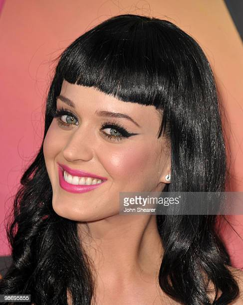 Singer Katy Perry arrives at Nickelodeon's 23rd annual Kid's Choice Awards at Pauley Pavilion on March 27, 2010 in Los Angeles, California.
