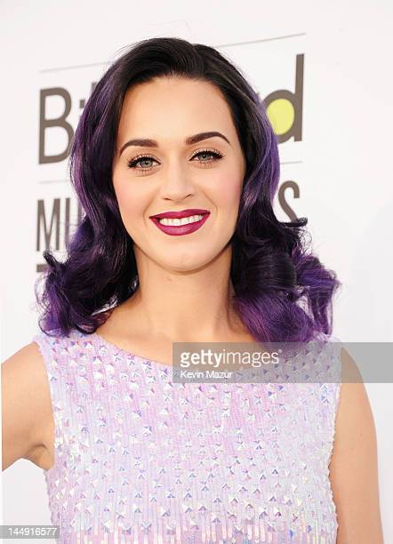 Singer Katy Perry arrives at the 2012 Billboard Music Awards at the MGM Grand Garden Arena on May 20 2012 in Las Vegas Nevada
