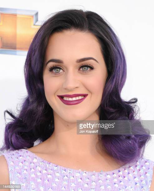 Singer Katy Perry arrives at the 2012 Billboard Music Awards held at the MGM Grand Garden Arena on May 20 2012 in Las Vegas Nevada