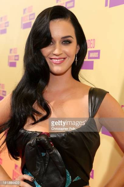 Singer Katy Perry arrives at the 2012 MTV Video Music Awards at Staples Center on September 6 2012 in Los Angeles California