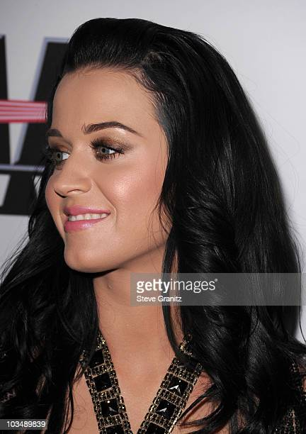Singer Katy Perry arrives at the 52nd Annual GRAMMY Awards Salute To Icons Honoring Doug Morris held at The Beverly Hilton Hotel on January 30 2010...