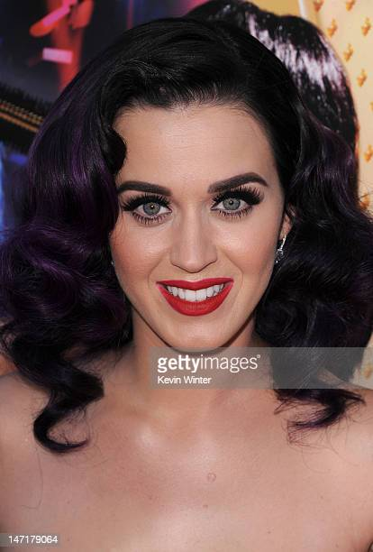 Singer Katy Perry arrives at the premiere of Katy Perry Part Of Me at Grauman's Chinese Theatre on June 26 2012 in Hollywood California The premiere...