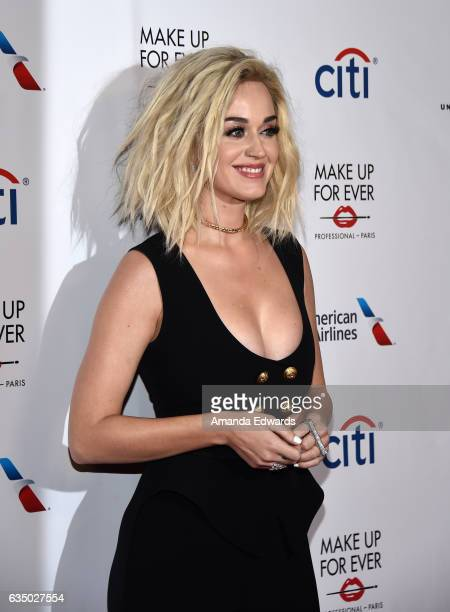 Singer Katy Perry arrives at the Universal Music Group's 2017 GRAMMY After Party at The Theatre at Ace Hotel on February 12, 2017 in Los Angeles,...