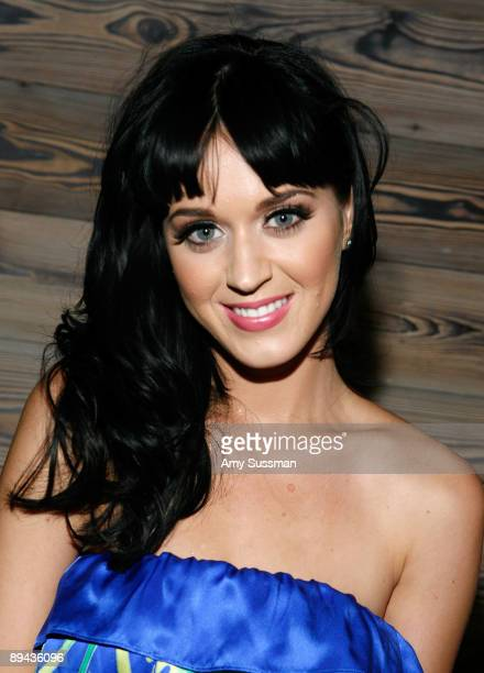 Singer Katy Perry attends a post concert party at The Griffin on July 28 2009 in New York City
