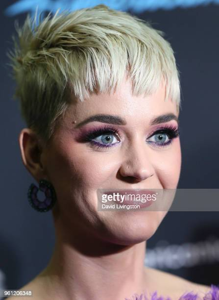Singer Katy Perry attends ABC's 'American Idol' Finale on May 21 2018 in Los Angeles California