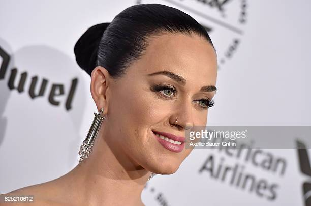 Singer Katy Perry attends Capitol Records 75th Anniversary Gala at Capitol Records Tower on November 15 2016 in Los Angeles California