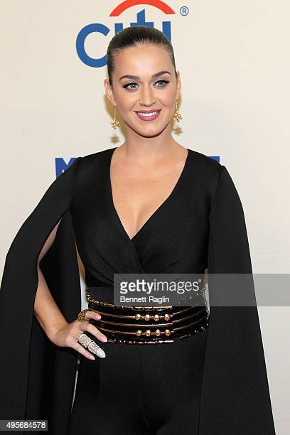 Singer Katy Perry attends Change Begins Within A David Lynch Foundation Benefit Concert on November 4 2015 in New York City