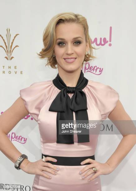 Singer Katy Perry attends Katy Perry launches MEOW by Katy Perry available exclusively at Nordstrom held at The Grove on December 14 2011 in Los...