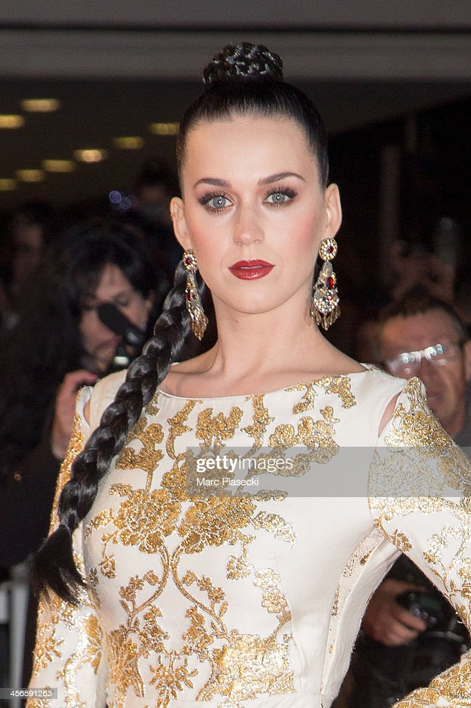 Singer Katy Perry attends the 15th NRJ Music Awards at Palais des Festivals on December 14, 2013 in Cannes, France.