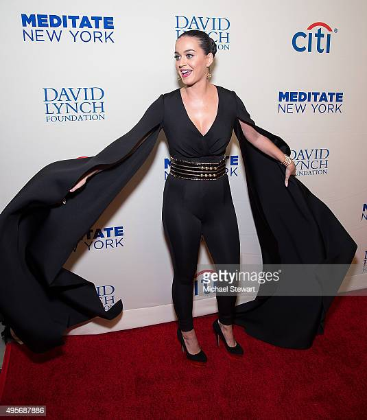 Singer Katy Perry attends the 2015 Change Begins Within Benefit Gala at Carnegie Hall on November 4 2015 in New York City