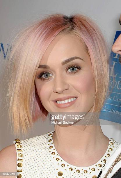 """Singer Katy Perry attends the 3rd Annual """"Change Begins Within"""" Benefit Celebration presented by The David Lynch Foundation held at LACMA on December..."""