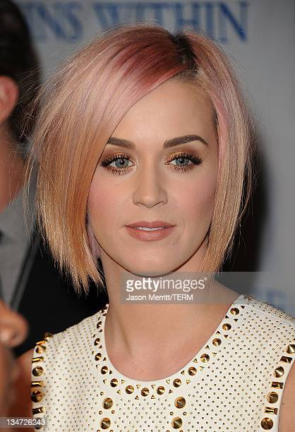 Singer Katy Perry attends the 3rd Annual Change Begins Within Benefit Celebration presented by The David Lynch Foundation held at LACMA on December 3...