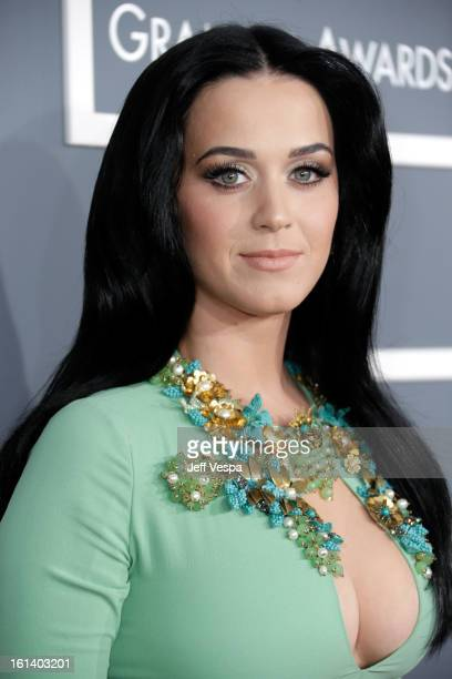 Singer Katy Perry attends the 55th Annual GRAMMY Awards at STAPLES Center on February 10 2013 in Los Angeles California