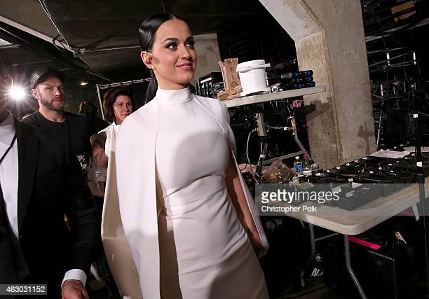 Singer Katy Perry attends The 57th Annual GRAMMY Awards at STAPLES Center on February 8 2015 in Los Angeles California