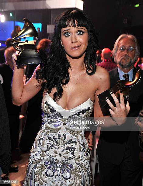 Singer Katy Perry attends the GRAMMY Nominations Concert Live at Club Nokia on December 2 2009 in Los Angeles California