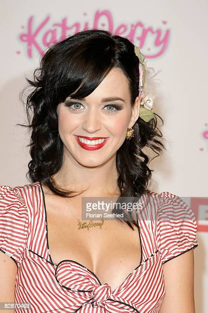 Singer Katy Perry attends the Katy Perry Concert at Fritzclub at the Postbahnhof on September 17 2008 in Berlin Germany
