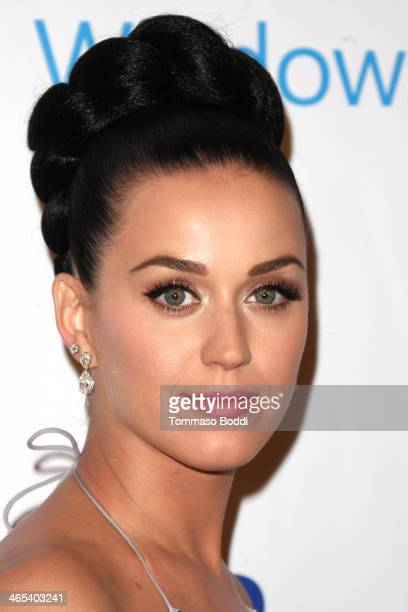 Singer Katy Perry attends the Universal Music Group 2014 post GRAMMY party held at The Ace Hotel Theater on January 26 2014 in Los Angeles California
