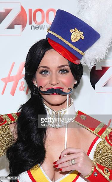 Singer Katy Perry attends Z100s Jingle Ball 2010 presented by HM at Madison Square Garden on December 10 2010 in New York City