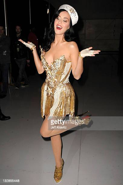 """Singer Katy Perry during """"VH1 Divas Salute the Troops"""" presented by the USO at the MCAS Miramar on December 3, 2010 in Miramar, California. """"VH1..."""