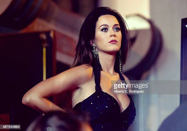 Singer Katy Perry is honored during her hand print ceremony at TCL Chinese Theatre IMAX Forecourt on September 8 2015 in Hollywood California