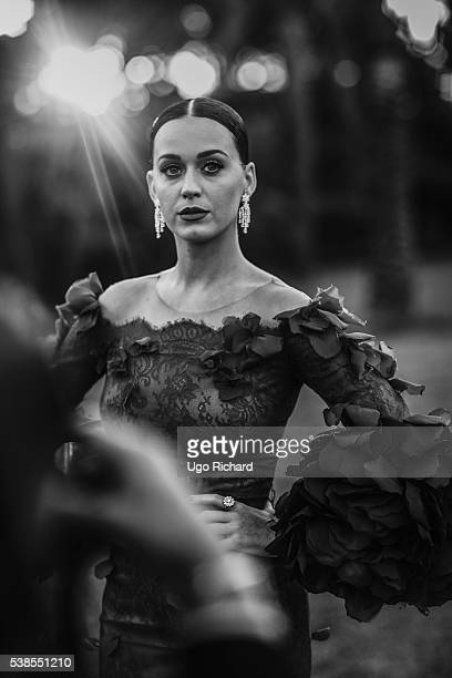 Singer Katy Perry is photographed for Gala on May 15 2016 in Cannes France