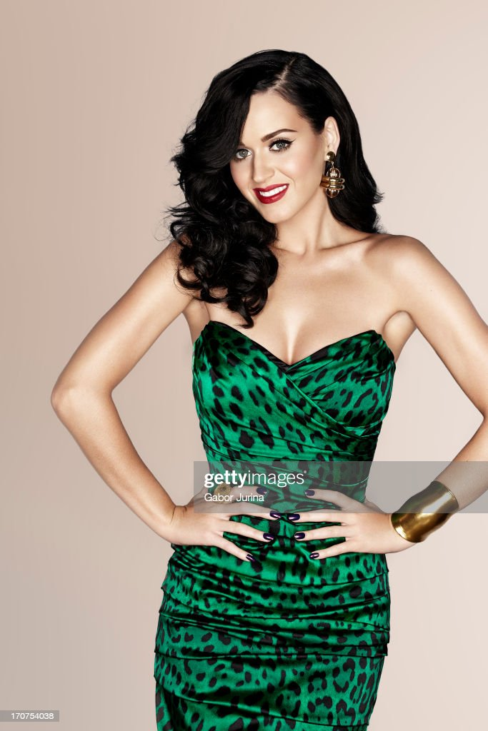 Katy Perry Green Dress