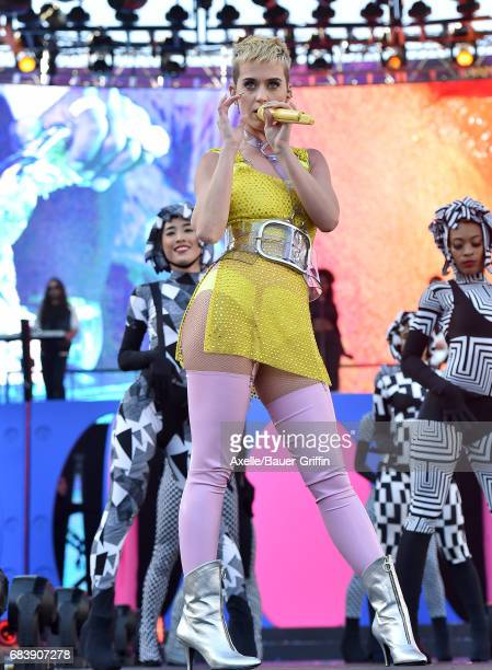 Singer Katy Perry performs at 1027 KIIS FM's 2017 Wango Tango at StubHub Center on May 13 2017 in Carson California