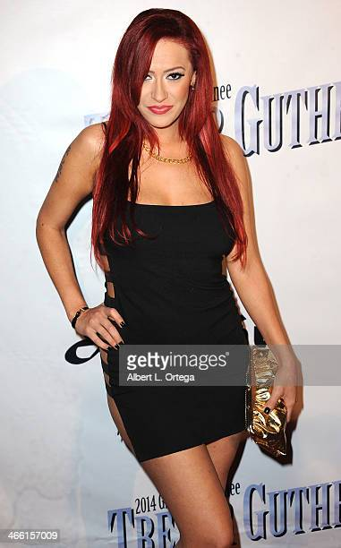 Singer Kaya Jones arrives for PreGrammy Celebration Party For Trevor Guthrie held at Acabar on January 25 2014 in Los Angeles California